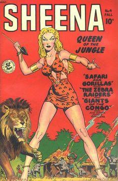 """Sheena:  Queen of the Jungle!"""
