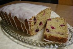 Cranberry-Orange Bread (made for Christmas one year as a gift, very popular) #vegan