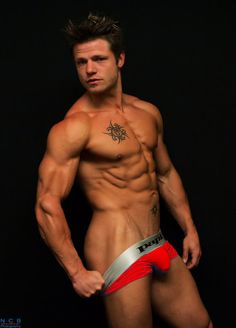 One of NorCalBodz models, Christopher Miles