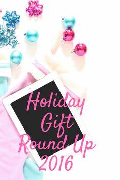 Gift guides for all ages! A round up of gift ideas for babies, toddlers, tweens, pregnant women, ladies, men, grandparents, and stocking stuffers.