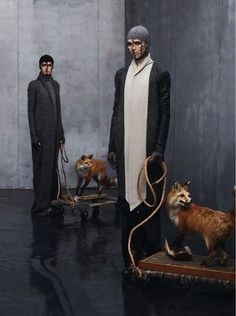 Collections: Rick Owens Steven Meisel for Vogue Italia, July 2012