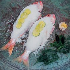 Salt-crusted Whole White Fish #Lunch #Recipe #Fish #SouthAfrica