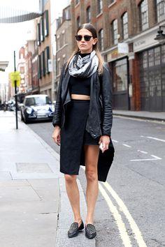 Street leather