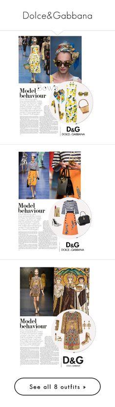 """Dolce&Gabbana"" by n-ci ❤ liked on Polyvore featuring Dolce&Gabbana, Yves Saint Laurent, Tom Ford, Kathryn Amberleigh, J APOSTROPHE, Boohoo, Anja, Gucci, Diane Von Furstenberg and shu uemura"