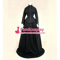 US$ 152.95 - Victorian Rococo Medieval Gown Ball Dress Gothic Linen Cosplay Costume Custom-Made[G842] - www.fondcosplay.com Cosplay Dress, Cosplay Costumes, Mascot Costumes, Rococo, Medieval Gown, Dress Tutorials, Gothic Dress, Costume Accessories, Ball Dresses