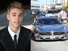 Tacky Celebrity Cars: Justin Bieber