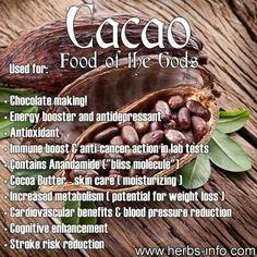 I love chocolate. The darker, the better.