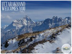 Begin your weekend at Uttarakhand. The mountains are wonderful this time of the year!