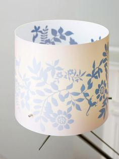 great idea! stick on decal inside a lamp shade.