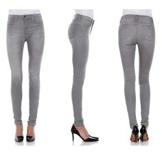 "NWT Joe's Jeans High Rise Leggings Skinny Gray Brand new with tags Joe's Jeans 'High Rise Leggings'. Distressed gray 'Priya' wash. Exceptionally soft denim. Material: Primodal/Lycra. Size 27. They have a 10"" rise and 32"" inseam. Amazing fit! Price is firm. Joe's Jeans Jeans Skinny"