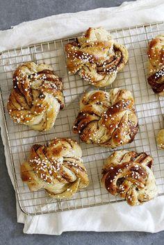 Swedish Cardamom Buns | Girl Versus Dough