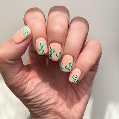#CactusNails #Cactus #CactiNails #Cacti #NOTD #manimonday #manicuremonday #sallyhansen #sallyhansenca