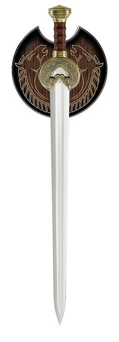 King Theoden's Sword <-- who started humming the Rohan theme when you saw this?? I did!!