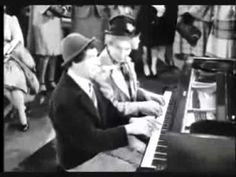 Chico and Harpo Marx piano duet. Brightened my morning right up.