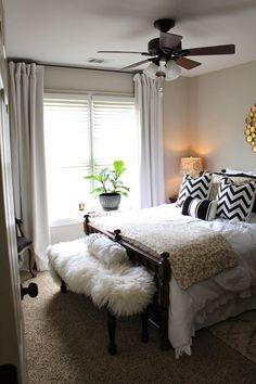 TiffanyD: A Peek Inside Our Guest Bedroom