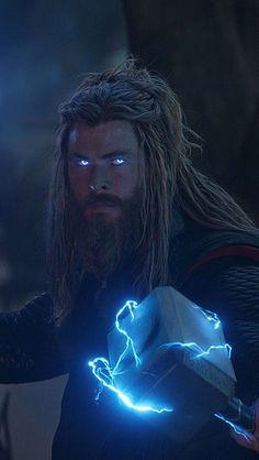 Thor Avengers Endgame Final Battle IPhone Wallpaper - IPhone Wallpapers