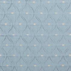 Drapery Fabric -  Chambray Silk Ogee Fabric Pattern