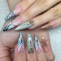 ⠀⠀⠀ Do it with passion or not at all ⠀⠀ ⠀⠀⠀ Using Rose gold from @micole_au ⠀⠀ ⠀ ⠀⠀⠀ #nail #nails #nailart #nailwow #nailswag #instanails#ignails#nailstagram #handpainted#nailsofinstagram #nails2inspire #nailsoftheday #notd#nailaddict #nailartclub #nailpromote #naildesigns #nailartist #almondnails #nailprodigy #gelnails #sydneyartist