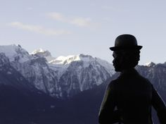 Charlie Chaplin Switzerland Vevey Mountain Photography. Vevey, Mountain Photography, Charlie Chaplin, Switzerland, Mount Everest, Mountains, Landscape, Nature, Travel