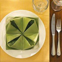 Servilletas de origami para Navidad   Aprender manualidades es facilisimo.com
