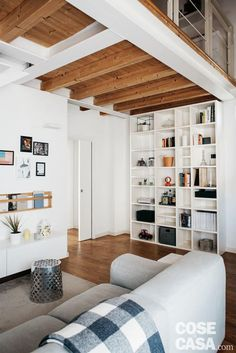 Study Interior Design, Big Houses, Shabby Chic Homes, Ideal Home, Sweet Home, New Homes, Loft, Lounge, House Design