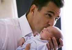 Bill Rancic with baby Duke! So precious.