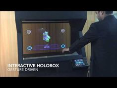 Interactive Gesture Driven HOLOBOX - Holographic Projection Like Display System - Demo By Oorja Interactive Product Display, Moet Chandon, Hologram, Case Study, Youtube, Youtubers, Youtube Movies