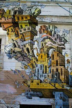 San Francisco, street art. #sanfrancisco Confira no WePlann as melhores dicas de San Francisco http://www.weplann.com.br/san-francisco