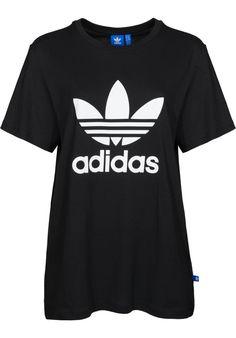 adidas Boyfriend-Trefoil - titus-shop.com  #TShirt #FemaleClothing #titus #titusskateshop