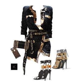 """Untitled #4185"" by kimberlythestylist ❤ liked on Polyvore featuring Alexandre Vauthier, Judith Leiber and Tom Ford"