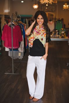 Dottie Couture Boutique - Ikat Scarf- Yellow, $12.00 (http://www.dottiecouture.com/ikat-scarf-yellow/)