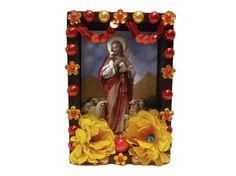 Jesus Shrine//Nicho//Shrine//Ofrend//Day of the Dead//Dia de los Muertos