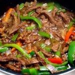 How to make pepper steak recipe with red wine vinegar