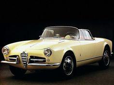 Giulietta spider 1956 Pininfarina