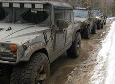OFF-RAOD OVERLAND ADVENTURES - Canadian Hummer Club Spring 4x4 MUD RUN O...
