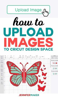 How to Upload Images to Cricut Design Space - Tutorial for Uploading SVG Cut Files Informations About How to Upload Images to Cricut Design Space - Jennifer Maker Pin Cricut Air 2, Cricut Help, Cricut Vinyl, Cricut Fonts, Layout Design, Booth Design, Cricut Craft Room, Upload Image, Craft Projects For Kids