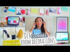 Make Your Room Look Tumblr! ♡ DIY Tumblr Room Decorations for Cheap! - YouTube