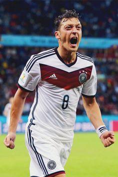 Mesut Özil.........BECAUSE WE WON THE WORLD CUP SUNDAY. JUST AN FYI GUYS!!!