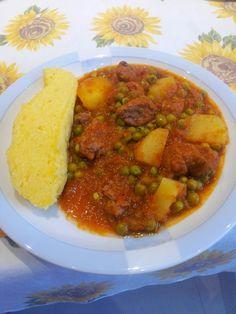 Quotidianamente Bimby: Spezzatino con Patate e Piselli