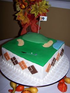 Another golf cake
