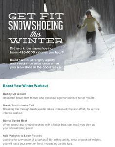 snowshoe tips - Google Search