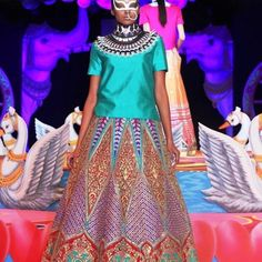 Manish Arora's Insane Neon Collection at PCJ Delhi Couture Week 2013 - Gallery