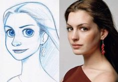 Have your daughter's pic drawn like a Disney character - $15 for color or only $5 for b/w.  really cute idea