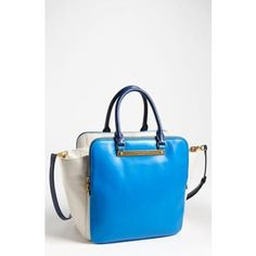 Marc by Marc Jacobs - Blue Goodbye Columbus Bentley Leather Tote db0728ff60e57