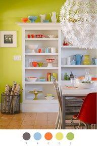 fiestaware kitchen ideas
