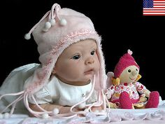 "Beautiful Reborn Baby Doll Kit ""Sophie"" by Evelina Wosnjuk"