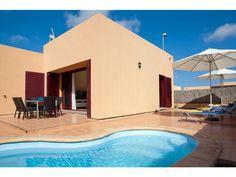 Villas del Sol deluxe - 3 Bed Villa for rent in Corralejo Fuerteventura sleeps up to 7 from £784 / €980 a week