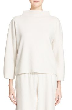 Free shipping and returns on Fabiana Filippi Funnel Neck Cashmere Sweater at…
