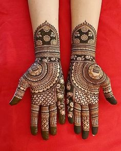 No photo description available. Henna Tattoo Designs Simple, Latest Bridal Mehndi Designs, Legs Mehndi Design, Full Hand Mehndi Designs, Henna Art Designs, Mehndi Designs 2018, Stylish Mehndi Designs, Peacock Mehndi Designs, Mehndi Designs For Girls