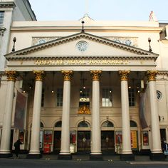 The Theatre Royal Haymarket in the day. Theatre Royal Haymarket, Theatres, England Uk, Mansions, House Styles, Places, Home Decor, Decoration Home, Manor Houses